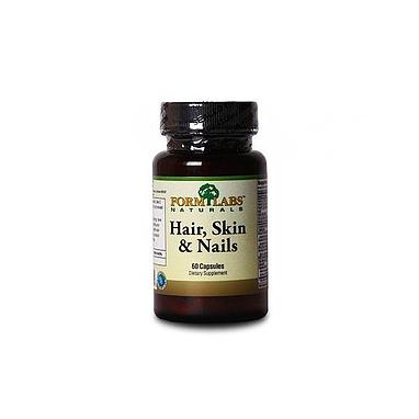 Комплекс витаминов и минералов FormLabs Hair, Skin & Nails (60 капсул) для  волос и ногтей
