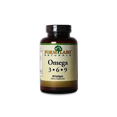 Комплекс жирных кислот Form Labs Omega 3 6 9 (90 капсул)