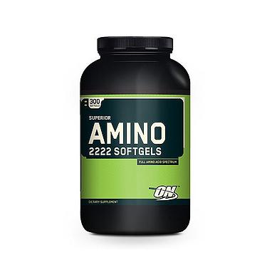 Аминокомплекс Optimum Nutrition Superior Amino 2222 (300 капсул)