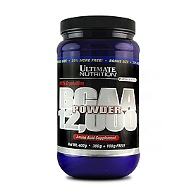 Фото 1 к товару Аминокомплекс Ultimate Nutrition BCAA powder (400 г)