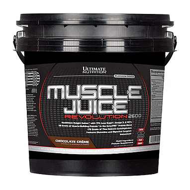 Гейнер Ultimate Nutrition Muscle Juice Revolution (5,04 кг)