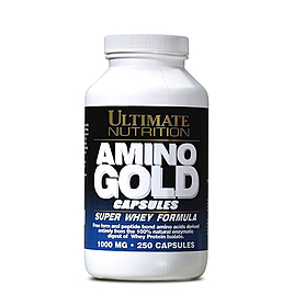 Аминокомплекс Ultimate Nutrition Amino Gold Capsules (250 капсул)