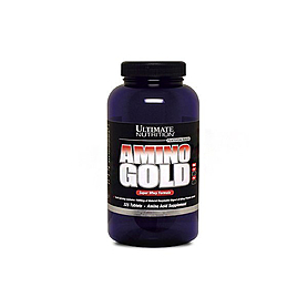 Фото 1 к товару Аминокомплекс Ultimate Nutrition Amino Gold Tablets (325 таблеток)