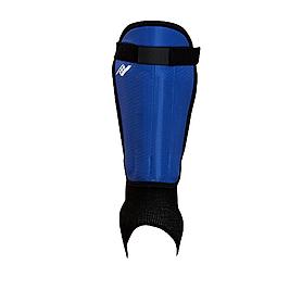 Щитки футбольные с голеностопом Rucanor Assist синие
