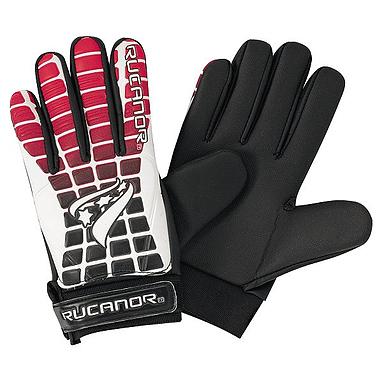 Перчатки вратарские Rucanor G-110 II красно-черные