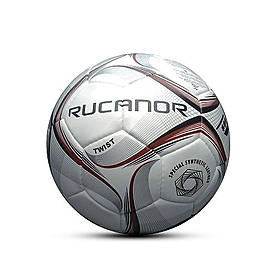 Фото 1 к товару Мяч футбольный Rucanor Twist профессиональный белый