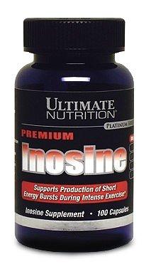 Стимулятор Ultimate Nutrition Inosine capsules (100 капсул)