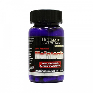 Мелатонин Ultimate Nutrition Melatonin (60 капсул)