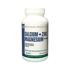 Фото 1 к товару Комплекс минералов Universal Calcium-Zinc-Magnesium (100 таблеток)