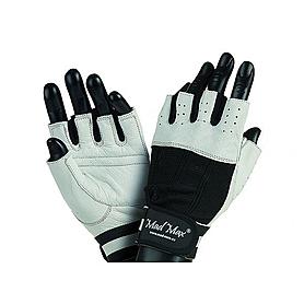 Перчатки спортивные универсальные Mad Max Classic MFG 248 белые