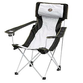Фото 1 к товару Кресло туристическое раскладное Easy Camp Holiday Hi-Back Grey