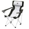 Кресло туристическое раскладное Easy Camp Holiday Hi-Back Grey - фото 1