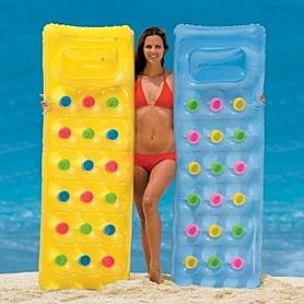 Фото 3 к товару Матрас надувной пляжный Intex 59894 (188х71 см)
