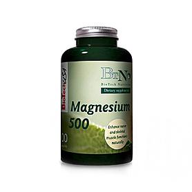 Фото 1 к товару Комплекс магния BioTech Natural Magnesium 500 (120 капсул)