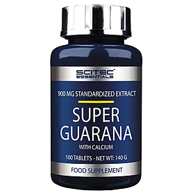 Фото 1 к товару Энергетик Scitec Nutrition Guarana 2400 mg with calcium (100 таблеток)