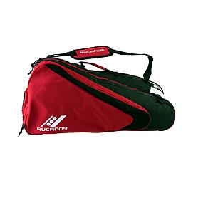 Сумка для теннисных ракеток Rucanor Aristidus красно-черная
