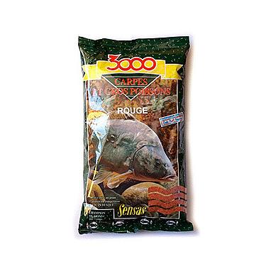 Прикормка Sensas 3000 Carp Red (1 кг)