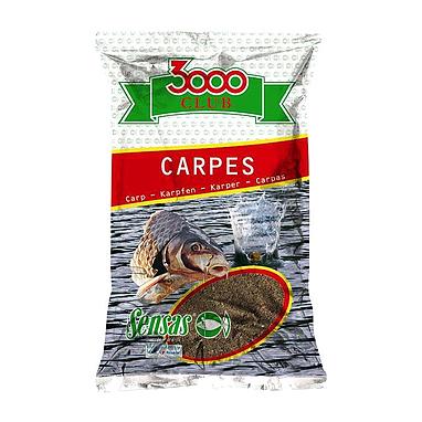 Прикормка Sensas 3000 Carp (1 кг)