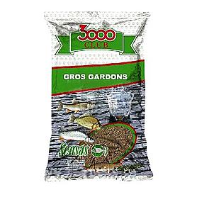 Фото 1 к товару Прикормка Sensas 3000 Gros Gardons (1 кг)