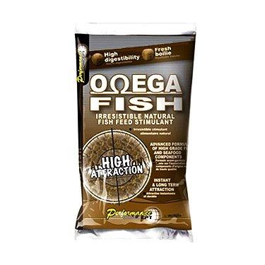 Бойлы Starbaits Omega Fish (14 мм, 1 кг)
