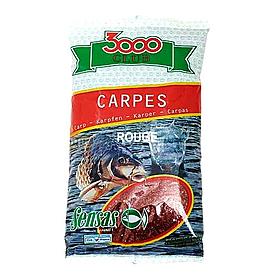 Фото 1 к товару Прикормка Sensas 3000 Carp b/f rouge (1 кг)