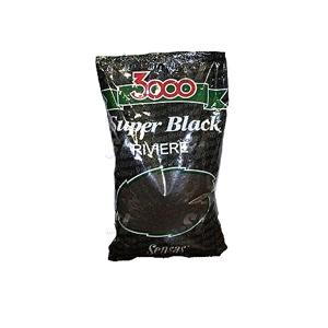 Прикормка Sensas 3000 Club (1 кг) озеро, черная