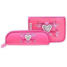 Фото 2 к товару Набор школьный Hama Step by Step Pink Romance 5 предметов (ортопедический)