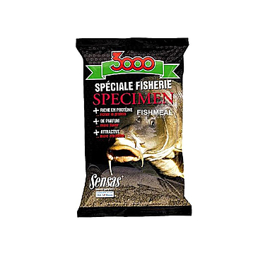 Прикормка Sensas 3000 Specimen fish meal (1 кг)