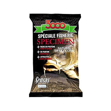 Прикормка Sensas 3000 Specimen sweet corn (1 кг)