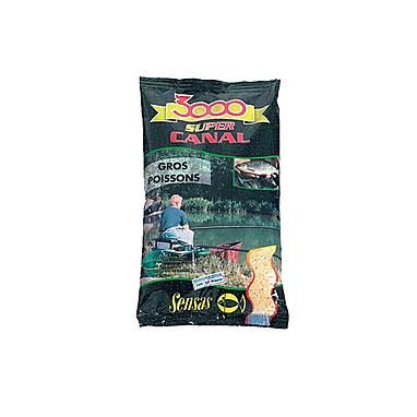 Прикормка Sensas 3000 Super Canal Big fish (1 кг)