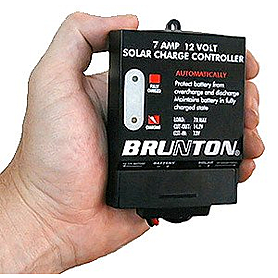 Фото 2 к товару Контроллер заряда для солнечных систем Solar Controller 12 Volt Charge Regulator