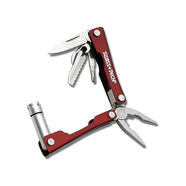 Мультитул-брелок SwissTech Mini Multi-Tool 8-in-1