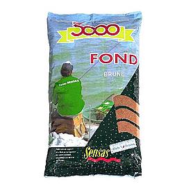 Фото 1 к товару Прикормка Sensas 3000 Fond Heavy mix brown (1 кг)