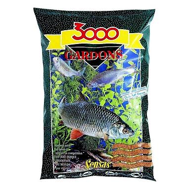 Прикормка Sensas 3000 Gardons (1 кг)