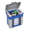 Ящик-станция Plastica Panaro 501 420х303х400 мм +4 коробки - фото 1