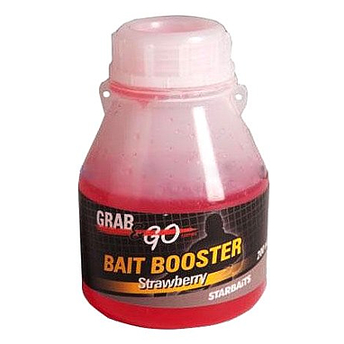 Аттрактант Starbaits Grab&Go Strawberry booster клубника 200 мл