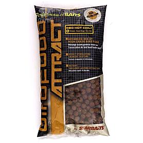 Бойлы Starbaits Birdfood attract Pop up всплывающие Red hot chili острый перец 14 мм 1 кг