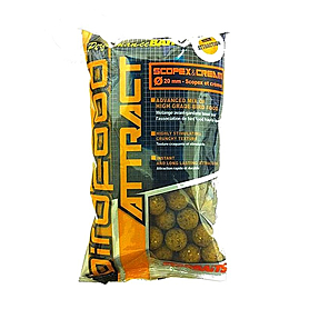 Бойлы Starbaits Birdfood attract Pop up всплывающие Scopex&Cream крем 14 мм 1 кг