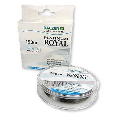 Леска Balzer Platinum Royal New 0.25 мм 150 м
