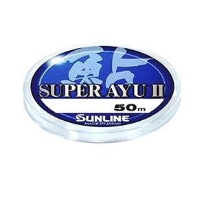 Леска Sunline Super Ayu II 50 м HG #0.15 0.064 мм
