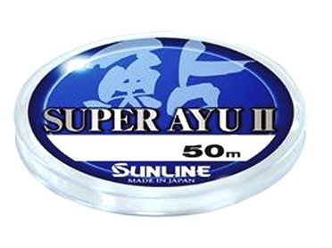 Леска Sunline Super Ayu II 50 м HG #0,2 0.074 мм