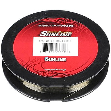 Леска Sunline Super Natural 100 м 0.405 мм 11,3 кг серая