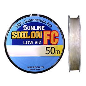 Фото 1 к товару Флюорокарбон Sunline SIG-FC 50 м 0.490 мм 14,4 кг поводковый