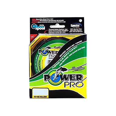 Шнур Power Pro 20lb (135 m 0.23 mm), 15 kg желтый