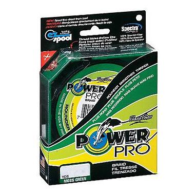 Шнур Power Pro 50lb (135 m 0.36 mm), 30 kg зеленый