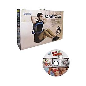 Фото 2 к товару Тренажер для пресcа Ab Tone Magic 50х45х45 см синий