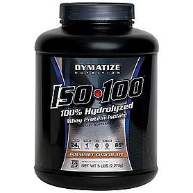 Фото 2 к товару Протеин Dymatize ISO-100 Carb Whey 5 lb (2,27 кг)