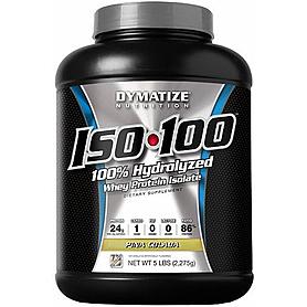 Фото 3 к товару Протеин Dymatize ISO-100 Carb Whey 5 lb (2,27 кг)