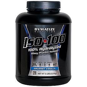 Фото 4 к товару Протеин Dymatize ISO-100 Carb Whey 5 lb (2,27 кг)