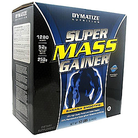 Гейнер Dymatize Super Mass Gainer 12lb (5,44 кг) - шоколад